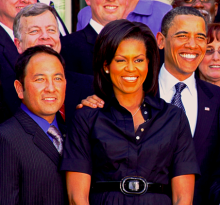 Kajitani & Barack Obama